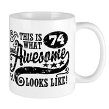 74th Birthday Small Mug