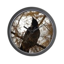 Kiev Crow Wall Clock