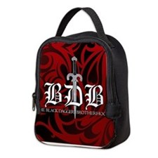 Bdb Red Neoprene Lunch Bag