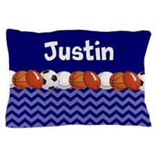 Sports Personalized Pillow Case