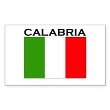 Calabria, Italy Rectangle Decal