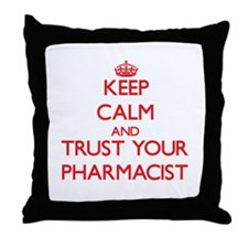 Keep Calm and trust your Pharmacist Throw Pillow