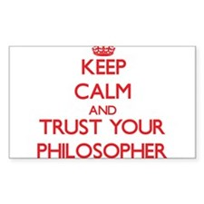 Keep Calm and trust your Philosopher Decal