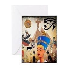 Egyptian Card Greeting Cards