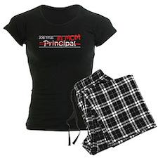 Job Mom Principal pajamas