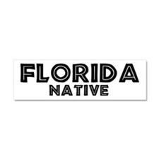 Cute Usa natives Car Magnet 10 x 3