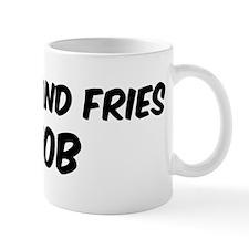 Burger And Fries Mug