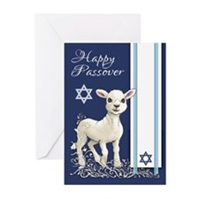 Passover Little Lamb Greeting Cards (pk Of 20)