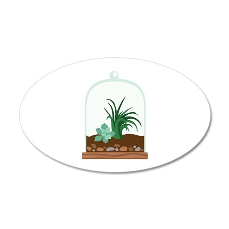 Plant Terrarium Wall Decal