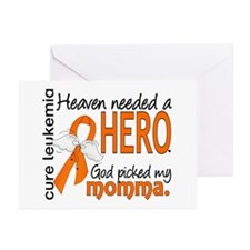 Leukemia Heaven Needed H Greeting Cards (Pk of 10)