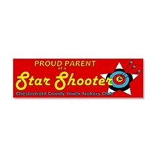 Star Shooter Proud Parent Car Magnet 10 X 3