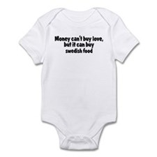 swedish food (money) Infant Bodysuit