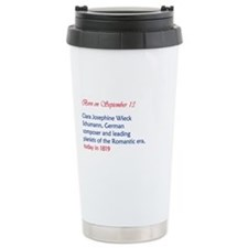 Cute Clara Travel Mug