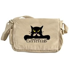 cattitude.png Messenger Bag