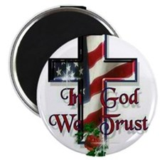 Cute In god we trust Magnet