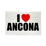 I Love Ancona, Italy Rectangle Magnet (100 pack)