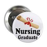 """Nursing Graduate 2.25"""" Button"""