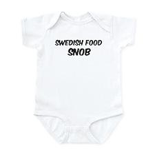 Swedish Food Infant Bodysuit