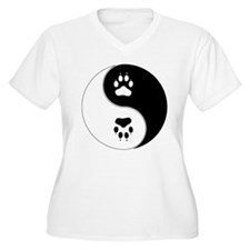 Yin Yang Paw Prin T-Shirt