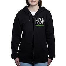 Live Love Hypnotherapy Zip Hoodie