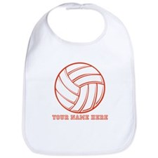 Custom Red Volleyball Bib