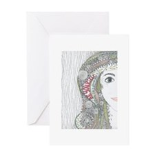 Be Yourself Greeting Cards