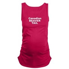 Candian Beaver TAIL Maternity Tank Top