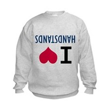I Love Handstands Sweatshirt