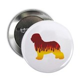 "Schapendoes Flames 2.25"" Button (100 pack)"