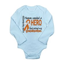 Leukemia Heaven Needed Long Sleeve Infant Bodysuit