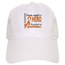 Leukemia Heaven Needed Hero Baseball Cap