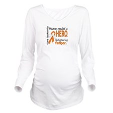 Leukemia Heaven Need Long Sleeve Maternity T-Shirt