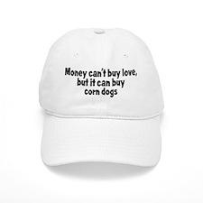 corn dogs (money) Baseball Cap