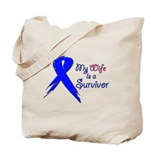My wife is a survivor 2 Tote Bag