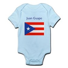 Juan Custom Puerto Rican Flag Boricua Body Suit