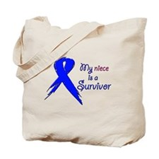 My niece is a survivor Tote Bag