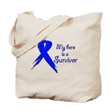 My hero is a survivor Tote Bag