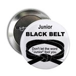 Junior Black Belt Button
