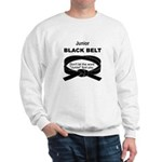Junior Black Belt Sweatshirt