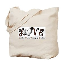 lasting over variety of emotion Tote Bag