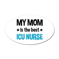 ICU Nurse Mom Wall Decal