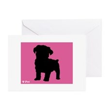 Schnoodle iPet Greeting Cards (Pk of 10)
