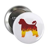 "Portie Flames 2.25"" Button (100 pack)"