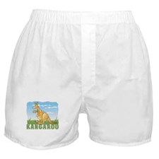Kid Friendly Kangaroo Boxer Shorts