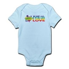 Live Let Love TX Body Suit