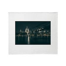 Washington D.C. Throw Blanket