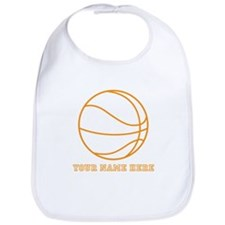 Custom Orange Basketball Bib