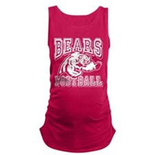 Bears Football Maternity Tank Top