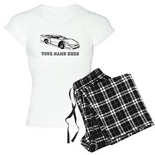 Custom Race Car Pajamas