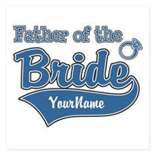 Father of the Bride 5.25 x 5.25 Flat Cards